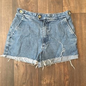 Vintage High waisted Short Shorts
